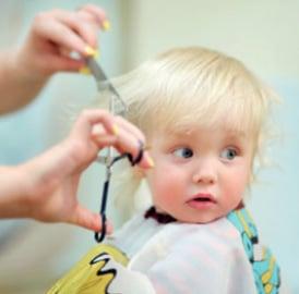 Haarschneiderei für Kinder