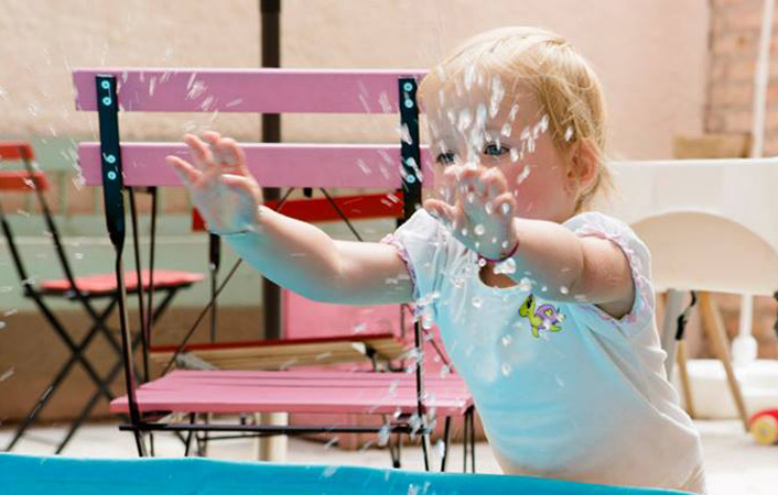 Sommerferienbetreuung für Kinder von 1-6 Jahren